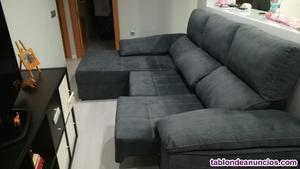 Se vende sofá chasis longue rinconera