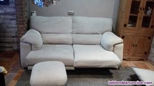Sofa 2 metros y puff