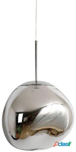 Wellindal Lámpara de suspensión melty 48-cromo 48x48x32