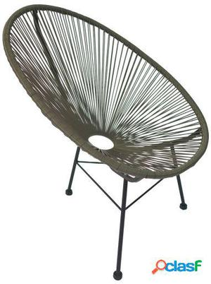 Wellindal Silla mexico -color edition--gris acapulco chair