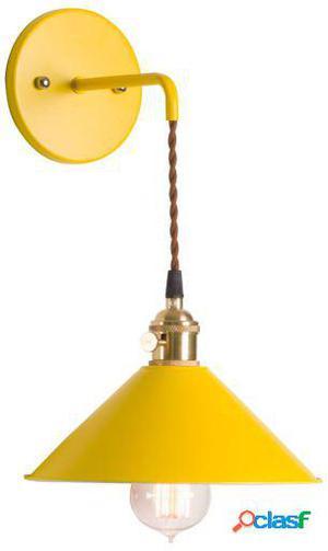 Wellindal aplique pared pendus-amarillo 21x25x25