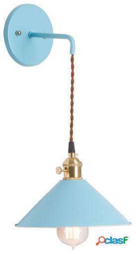 Wellindal aplique pared pendus-azul 21x25x25