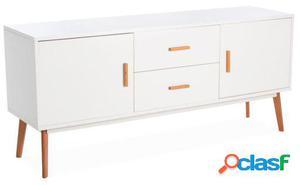 Wellindal mueble de comedor artika-blanco 160x40x70