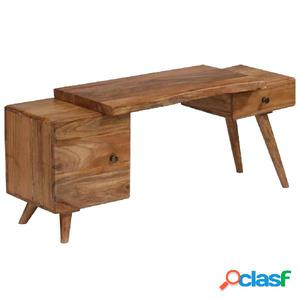 Aparador de madera de acacia maciza 120x36x50 cm
