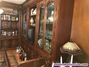 Boisserie y mobiliario salón clásico alta calidad e