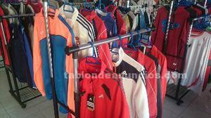 Lote de ropa y complementos deportivos