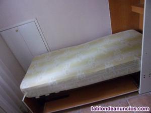 Mueble cama vertical