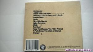 All time low - 2 cd's cd s originales: dirty work + nothing