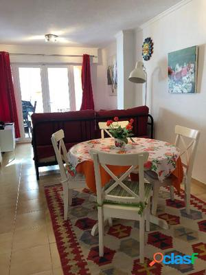 Alquiler apartamento centro Moraira Costa Blanca