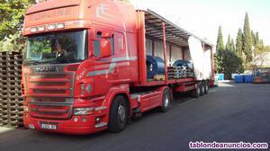 Empresa de transporte de mercancías.