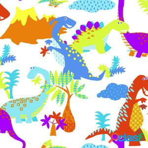 Kids at Home Papel de pared Dinosaur multicolor 100116