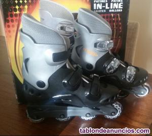 Vendo patines en linea tentable a estrenar talla