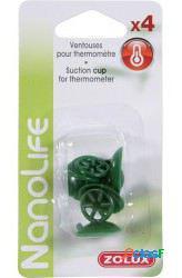 Zolux Pack 4 Ventosas Termometro para Acuario