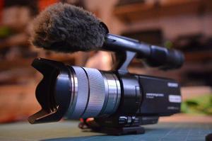 Cámara de vídeo profesional Sony NEX-VG20 en perfecto