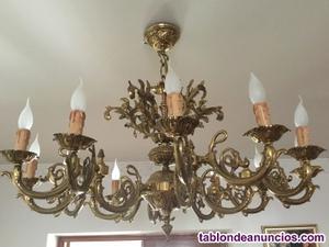 Dos lamparas de techo