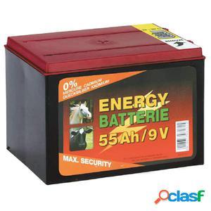 Kerbl Batería de zinc y carbono 9 V 55 Ah 441212
