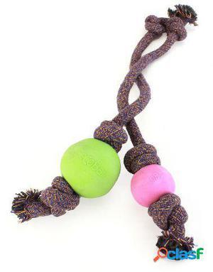 Beco Juguete Ball con Cuerda L Rosa