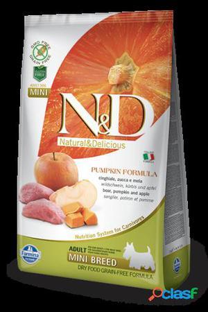 Farmina N&d Grain Free Pumpkin Adult Mini Jabalí & Manzana