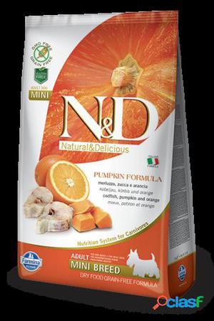 Farmina N&d grain free pumpkin adult mini pescado 7 Kg