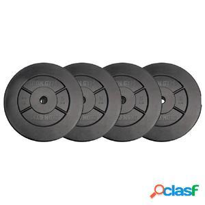 Iron Gym Juego de discos de pesas 4x5 kg IRG032