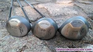 Juego de palos de golf bob toski (10 palos)