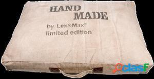 Lex & Max Cama Boxbed Handmade Beige 120x9x80 cm