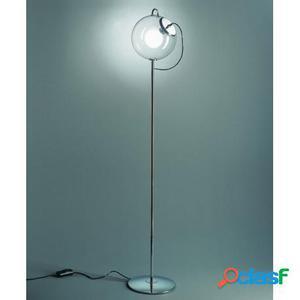 Lámpara de pie esfera de cristal estilo Retro Casa de Hoy