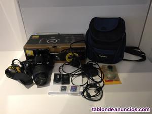 Máquina de fotos reflex digital
