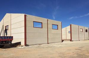Paneles prefabricados de hormigón para cerramientos
