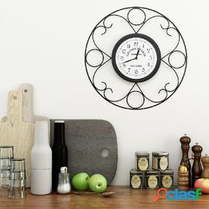 Reloj de pared de jardín vintage 45 cm