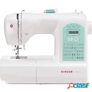Singer Máquina de coser Starlet blanca 6660
