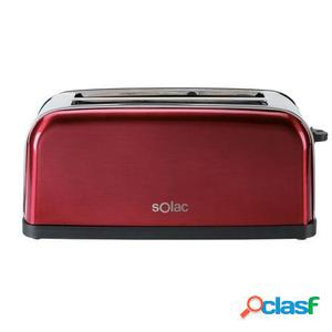 Tostador de pan solac stillo red - ranura extra ancha - 7