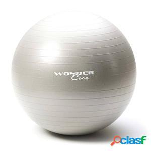 Wonder Core Pelota de gimnasio 65 cm gris WOC028 anti