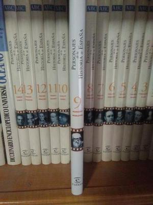 enciclopedia PERSONAJES DE LA HISTORIA DE ESPAÑA 14 tomos