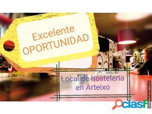 EXCELENTE LOCAL DE HOSTELERIA EN ARTEIXO
