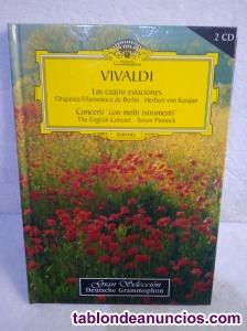 Vendo 2 cd magníficos de vivaldi.