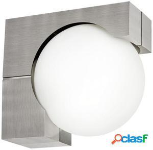 Wellindal Aplique de exterior 1 luz E27 Acero inoxidable y