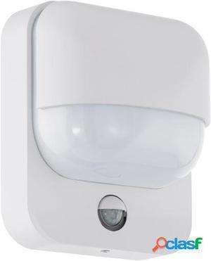 Wellindal Aplique de exterior 1 luz E27 Blanco con Sensor