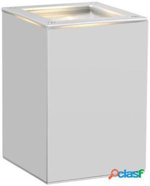 Wellindal Aplique de exterior 1 luz Plata Tabo 1