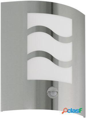 Wellindal Aplique de exterior 1 luz con Sensor de Acero
