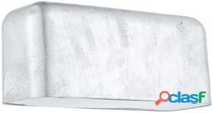 Wellindal Aplique de exterior 1 luz galvanizado Avesia