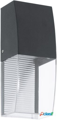 Wellindal Aplique de exterior led 1 luz Antracita y Claro