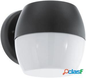 Wellindal Aplique de exterior led Negro y Blanco Onca