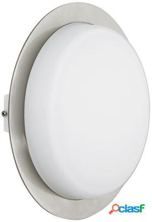 Wellindal Aplique exterior 1 luz níquel y mate Icante