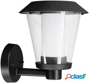 Wellindal Aplique led de exterior 1 luz Negro Paterno