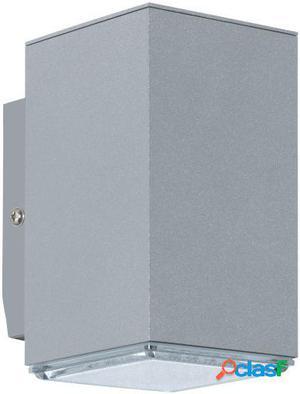 Wellindal Aplique led de exterior 1 luz Silber Tabo
