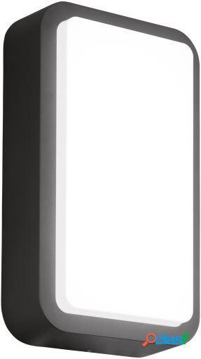 Wellindal Aplique led de exterior Antracita Trosona