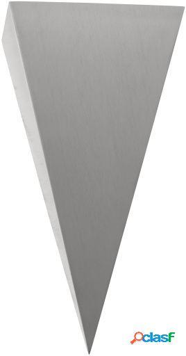 Wellindal Led aplique de exterior Acero inoxidable Trigo 2