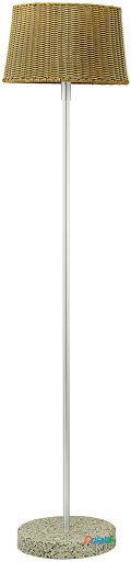 Wellindal Lámpara de Pie Exterior 1 luz E27 Levada