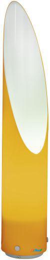 Wellindal Lámpara de Pie exterior 1 luz E27 naranja y Plata